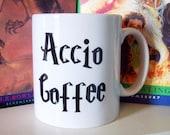 Harry Potter Accio Coffee mug