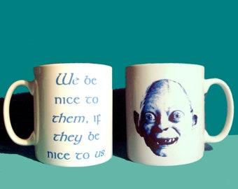 Gollum quote mug