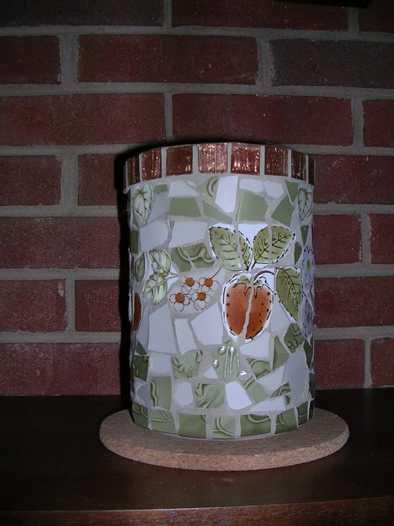 Mosaic Pot or Utensil holder