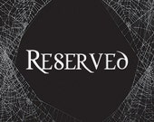 Reserved for Yasmine