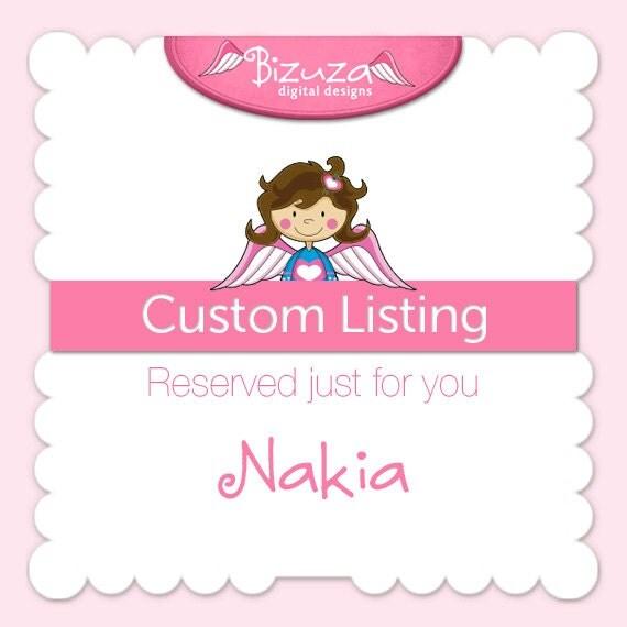 Custom Order for Nakia