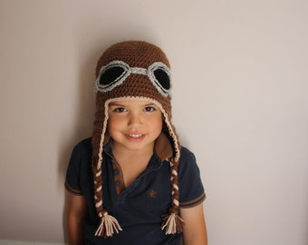 Made to order aviator hat :)