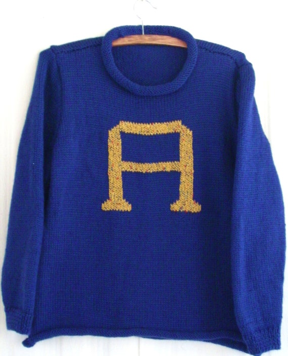 Harry Potter Weasley Sweater ( We handknit this for you) Price is for a XXL sweater Ask about your size price