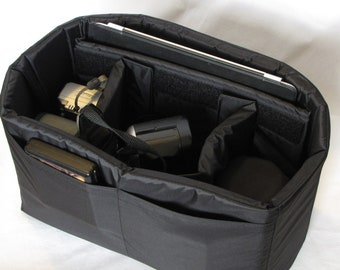 PreOrder Adjustable Divider Camera Bag Insert - Custom Sizes & Colors Available