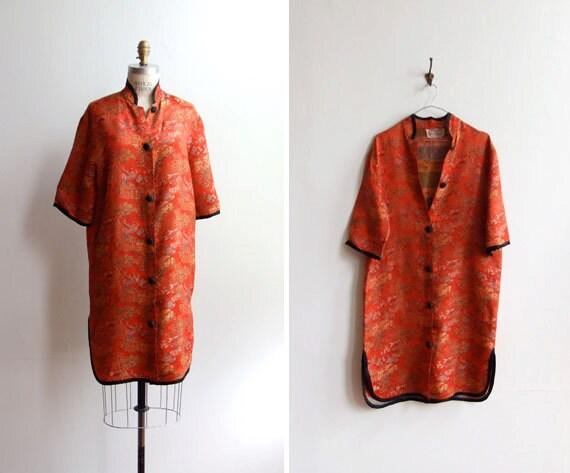 FINAL SALE////vintage 1960s robe style jacket