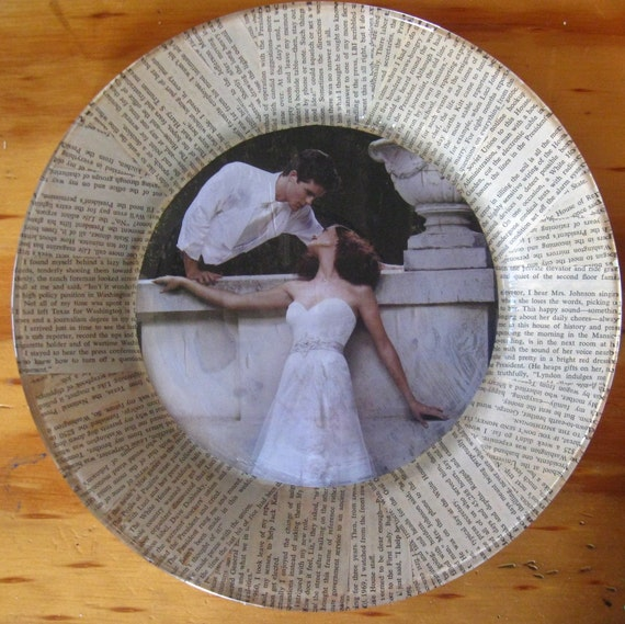 "Decorative Plate - ""In Love"""