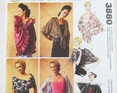 McCalls Pattern 3880 - Misses' Wraps & Capes in 7 Variations - All Sizes Included