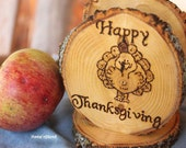 Happy Thanksgiving Rustic Napkin Holder Stand Holiday Table Decor Thankgiving Table Centerpiece Turkey