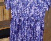Plus size Purple Pleaser Day Dress size 20 SALE