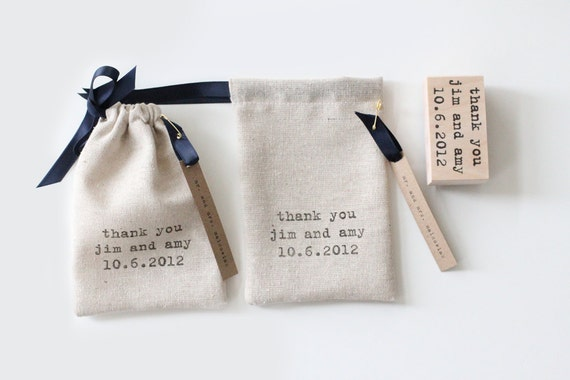 Custom Drawstring Pouches - Shop Bags, Wedding Favors - Set of 24