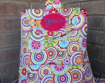 Personalized Toddler Backpack - over 200 fabric choices