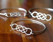 ORIGINAL Double Infinity Stackable Bangle Bracelet
