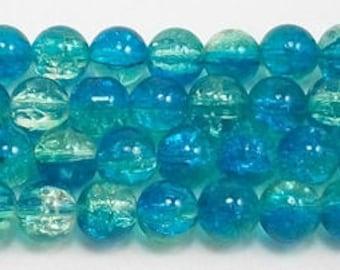 10mm Seamist Crackle Glass (20)
