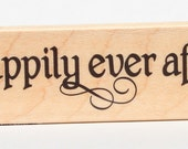 Happily Ever After Wood Mounted Rubber Stamp 7 Gypsies