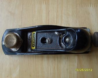 Stanley Tool, Vintage Wood Working Tool, Wood Plane by Stanley, Metal, Wood Working Tool