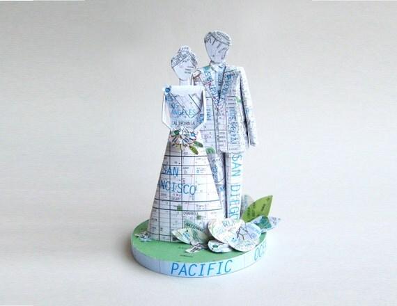 Wedding Cake Toppers Etsy Wedding Cake Toppers Curated