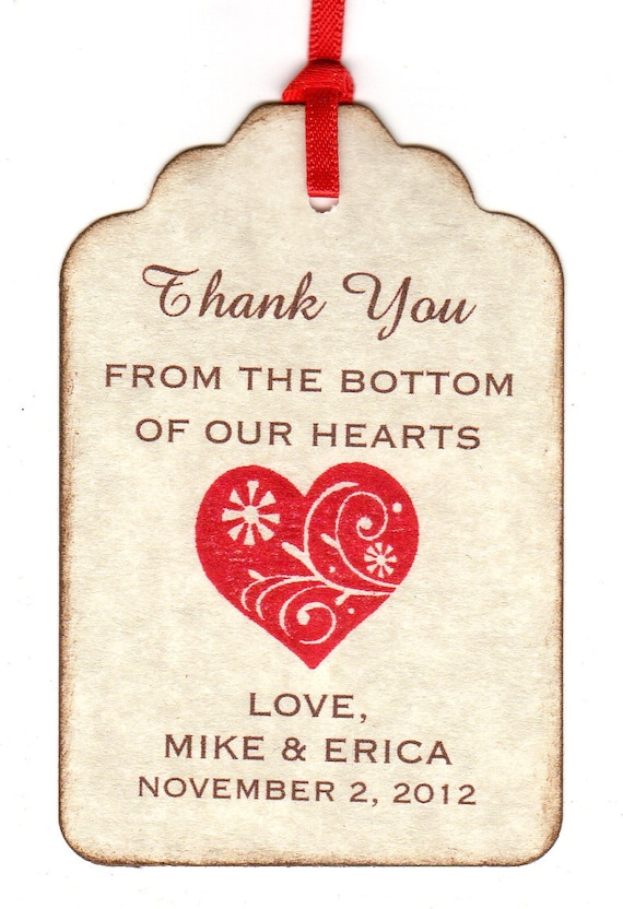 Wedding Gift Bag Thank You Cards : favorite favorited like this item add it to your favorites to revisit ...