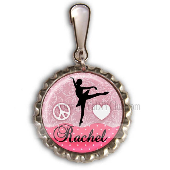 ballet recital gift personalized girls dance bags zipper