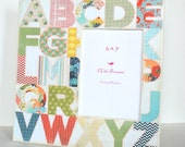 12 x 12 Picture Frame - Alphabet Picture Frame - 5 x 7 Frame