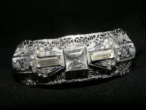 Reserved for Danielle! DO NOT BUY unles you are her!Plainsville Silver Co Art Deco bracelet