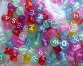 SALE!! Beads, Alpha Beads, Round Trans Mx, Assorted colors, Pkg Of 70  SALE!!
