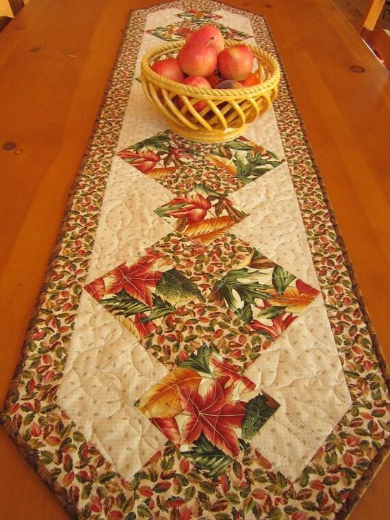 Autumn Beauty Long Table Runner