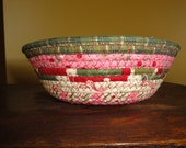 Pink and green bowl
