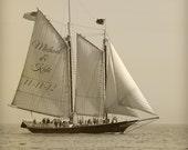 Personalized Sailboat Print, Sailboat Art, Sailboat Decor, Custom Art Print, Custom Nautical Gifts, Personalized Boat Print
