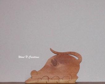 Family of Mice - Home Decor - Animals - Reclaimed Pine Wood - Shelf Decor