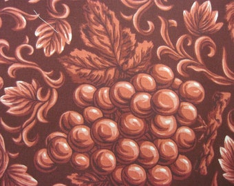 Red Burgundy Grape Fabric 1 1/2 yd.