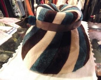 """1950s Vogue Fur Felt Hat by """"Claude Saint-Cyr"""