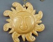 Sun Tropical Ceiling Fan Pull, Pottery