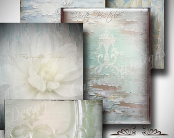 """Digital Background Textures, """"Antiqued Collection"""" commercial use ok"""