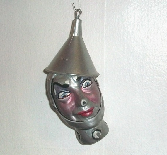 On Reserve for kroffty. The Tin Man - a Wizard of Oz caricature ornament by the late New York Artist Ron Kron - 1 of 5 listed