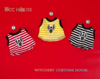Vest strip with Spider graphic tranfers for Lati Yellow Pukifee to have 3 version for choose
