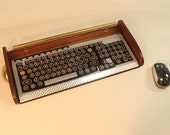 Keyboard Mouse  Combo-Antique looking Victorian Retro Styling - Steampunk-Typewriter-Silver- ETSY DISCOUNT OFFER