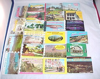 Travel Ephemera Scenic View Booklets Travel Memorabilia