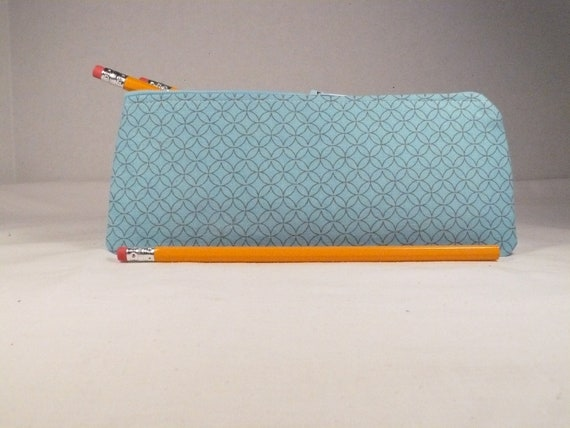 Pencil case zipper pouch - Back to school - cosmetic or tampon case