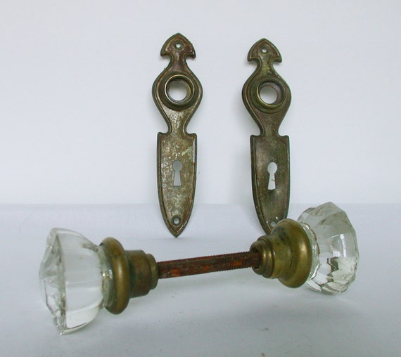 Wildly domesticated new life for 1920s handles for 1920 glass door knobs