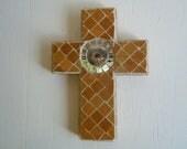 Mosaic Cross Circle of Life