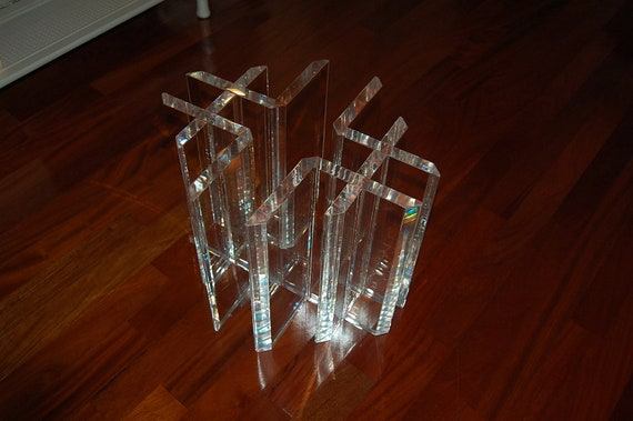 Reserved For Sue Vintage Lucite Table Bases Mid Century