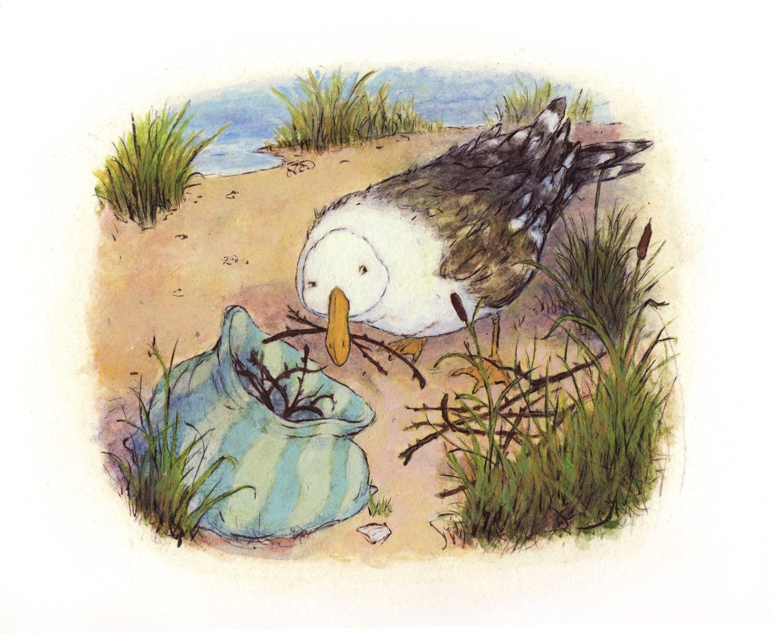 Sneaky Gull
