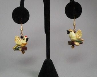 Birds on a Branch Earings