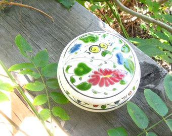 Gems from Greece Ceramic Lidded Dish