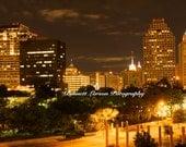 San Antonio at Night - Free Shiping