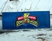 Blue vinyl Power Rangers Wallet