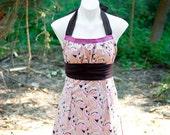 Pink Paisley Emmeline Reversible Apron