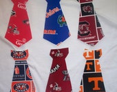 S E C Power tie applique t-shirts for gameday and more...Vols, Gators, Vandy, Auburn tigers, Dawgs, South Carolina, Tech, Bama