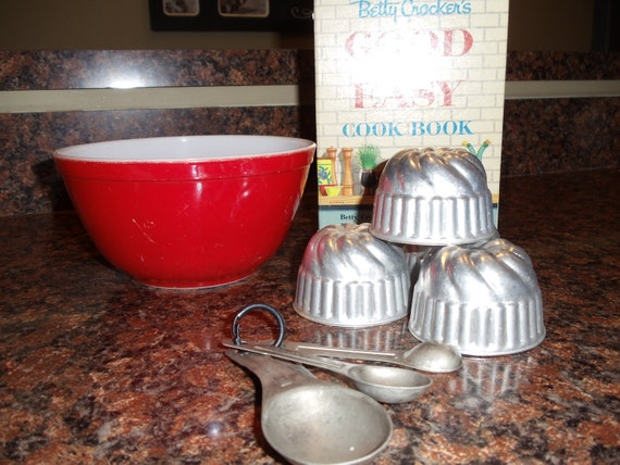Vintage Jello Molds-Set of Four-1950s // 204