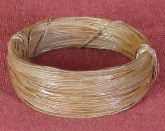 3 Rolls of 24 Gauge Rusty Wire